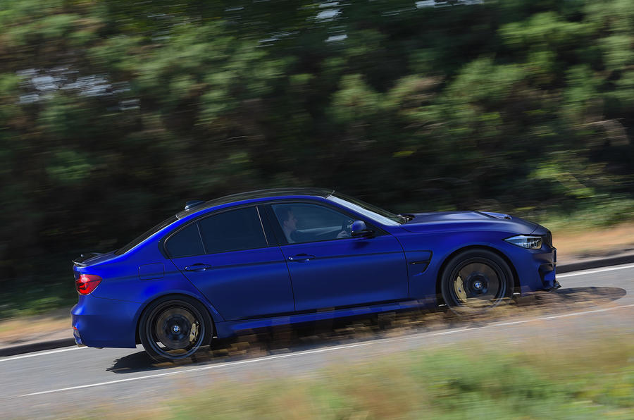 BMW M3 CS 2018 UK first drive review hero side