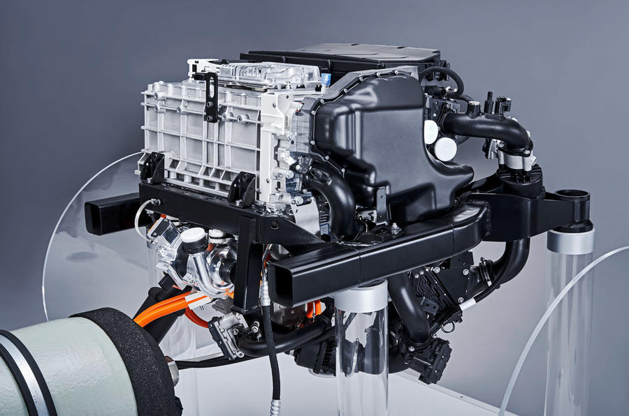 BMW the fuel cell system