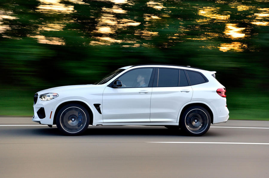 BMW X3 M Competition 2019 first drive review - hero side