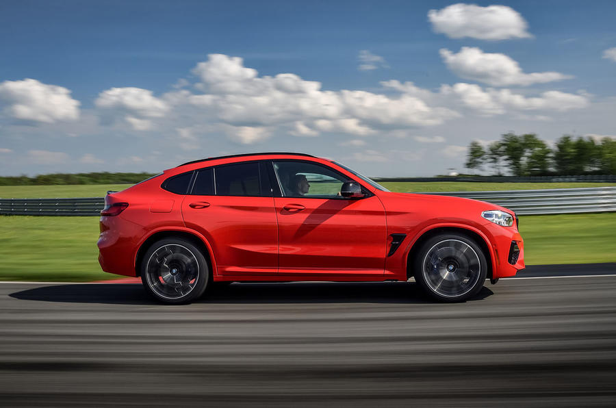 BMW X4 M Competition 2019 first drive review - hero side
