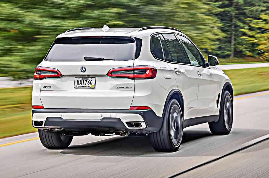 BMW X5 2019 first drive review hero rear