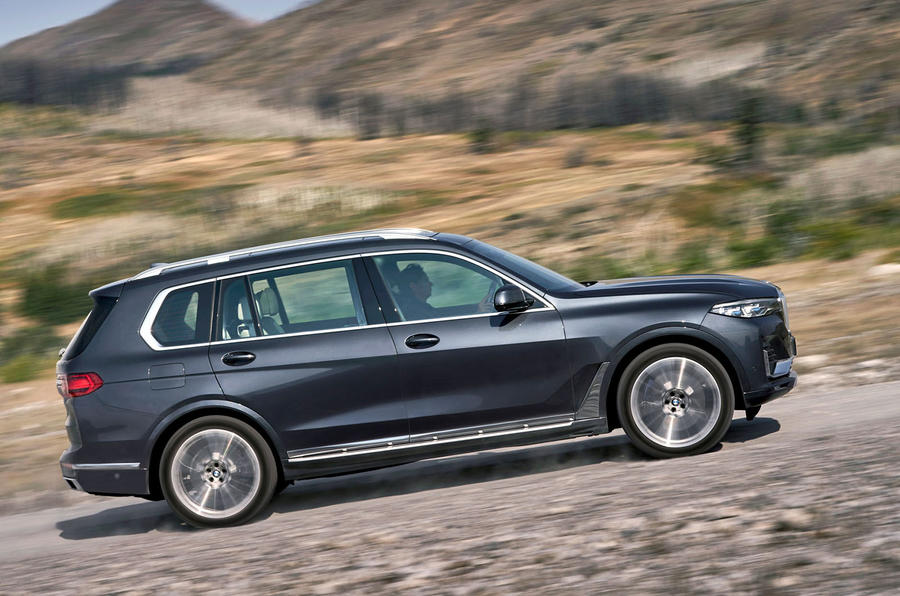 BMW X7 2019 first drive review - hero side