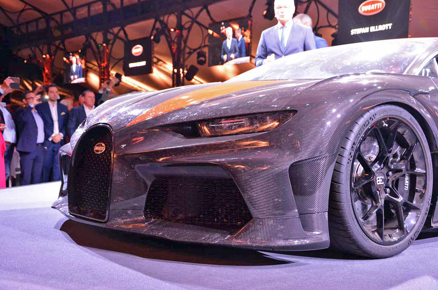 Bugatti Chiron Super Sport 300+ official debut - front end