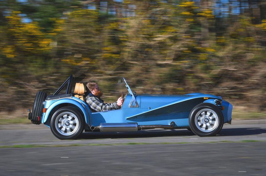 Caterham Super Seven 1600 2020 UK first drive review - hero side