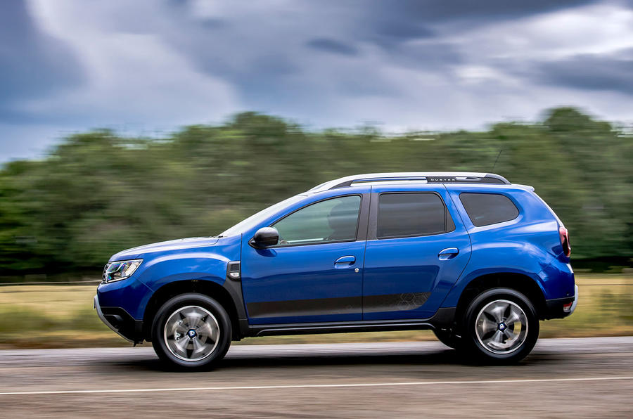 Dacia Duster Bi-Fuel 2020 UK first drive review - hero side