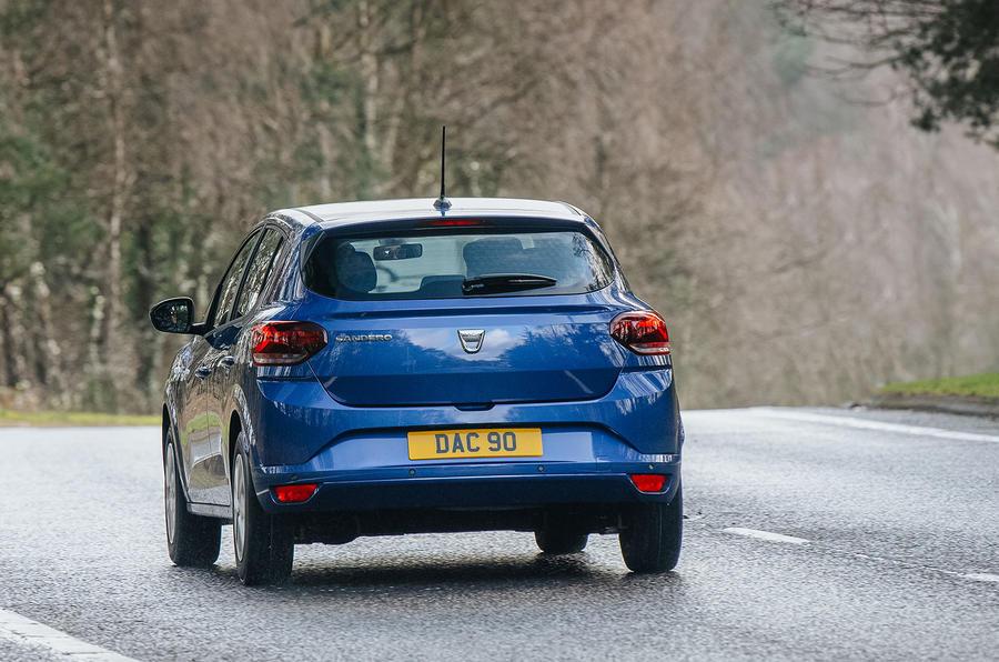 Dacia Sandero TCe 100 Bi-Fuel 2021 UK review | Autocar