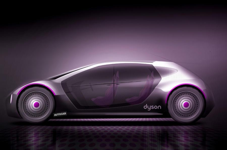 Dyson EV - render