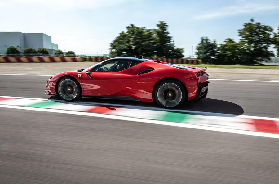 Ferrari SF90 Stradale 2020 first drive review - hero side