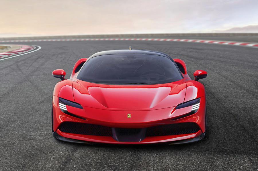 Ferrari SF90 Stradale plug-in hybrid - static front
