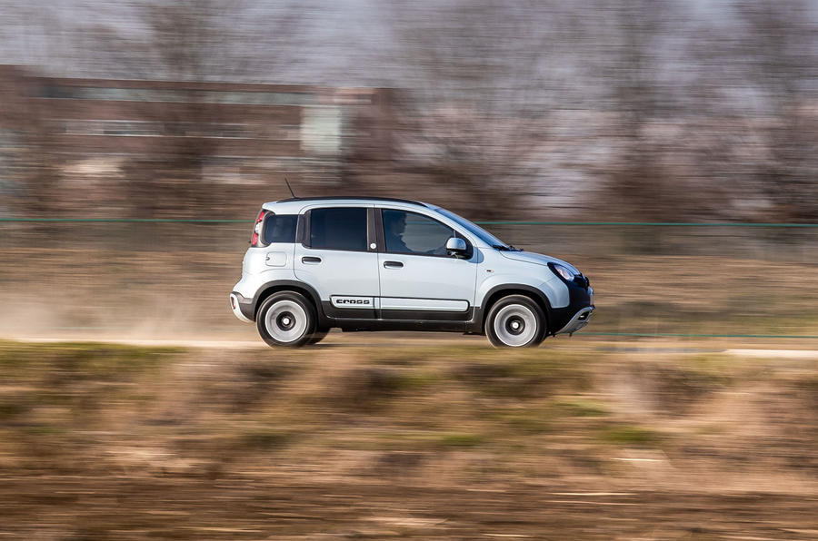 Fiat Panda Cross Hybrid 2020 first drive review - hero side