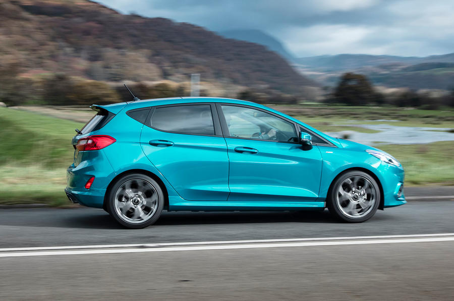 Autocar writers car of 2020 - Ford Fiesta side