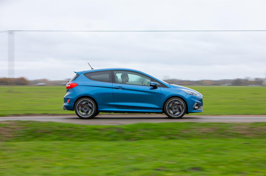 Ford Fiesta ST 2019 long-term review - hero side