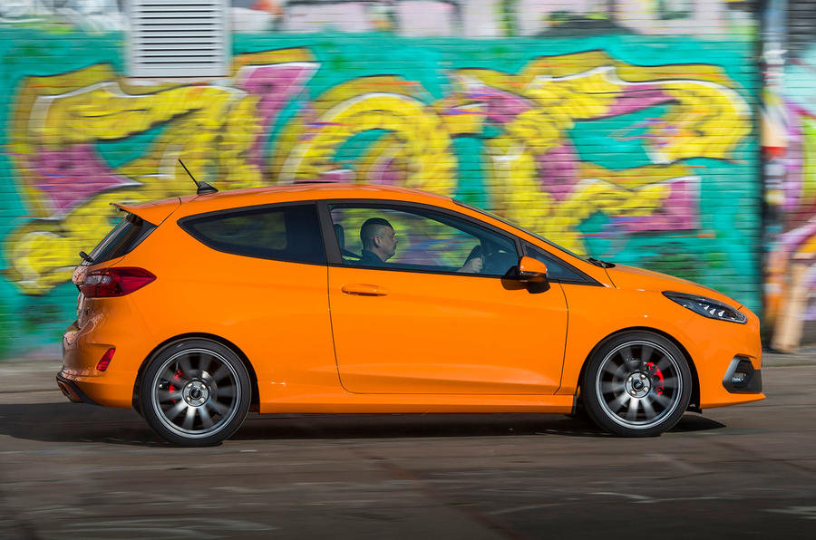 Ford Fiesta ST Performance 2019 first drive review - hero side