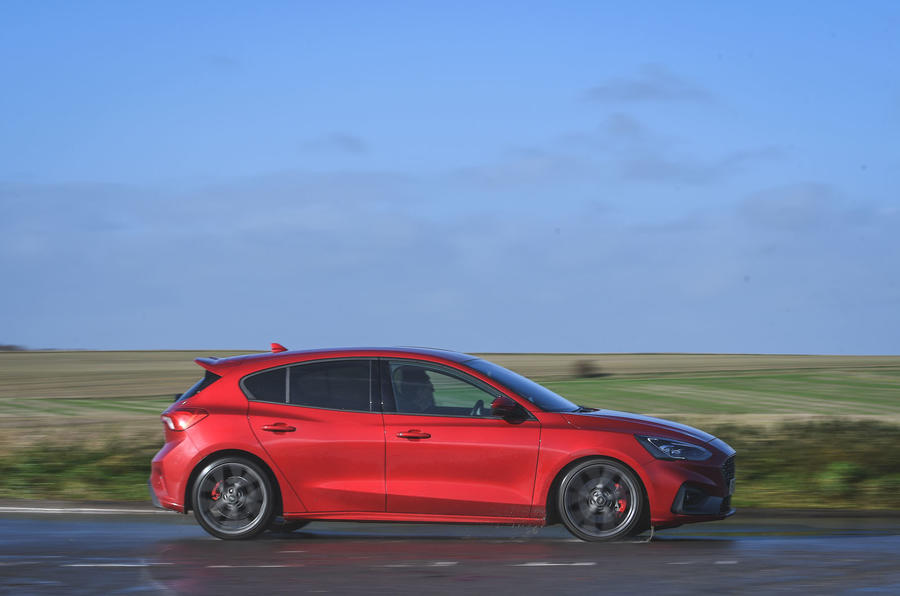 Ford Focus ST automatic 2020 UK first drive review - hero side
