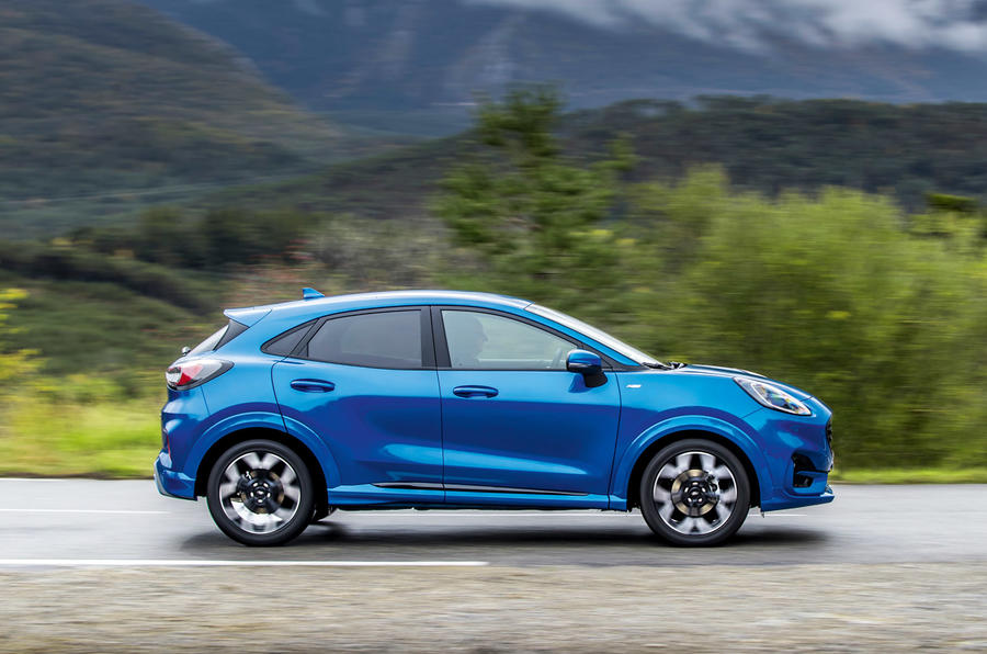 Ford Puma 2020 first drive review - hero side