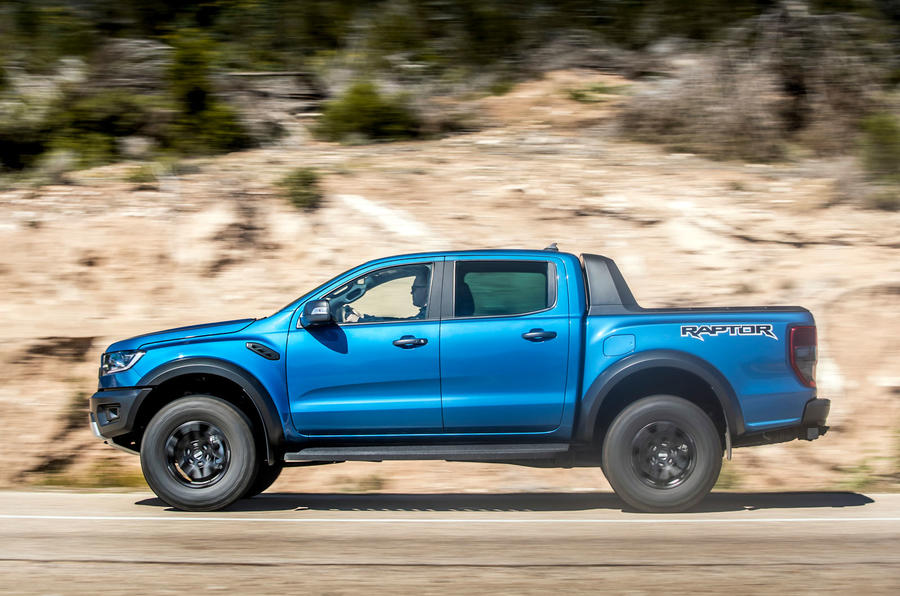 Ford Ranger Raptor 2019 first drive review - hero side