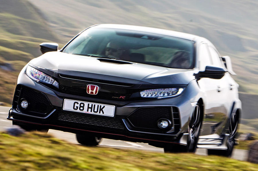 Honda Civic Type R - hero front