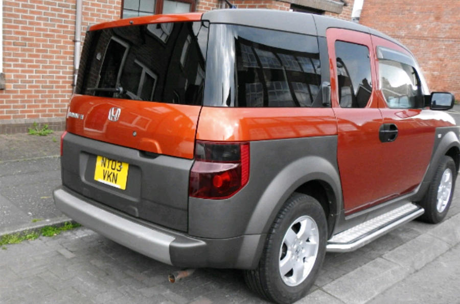 Honda Element - static rear