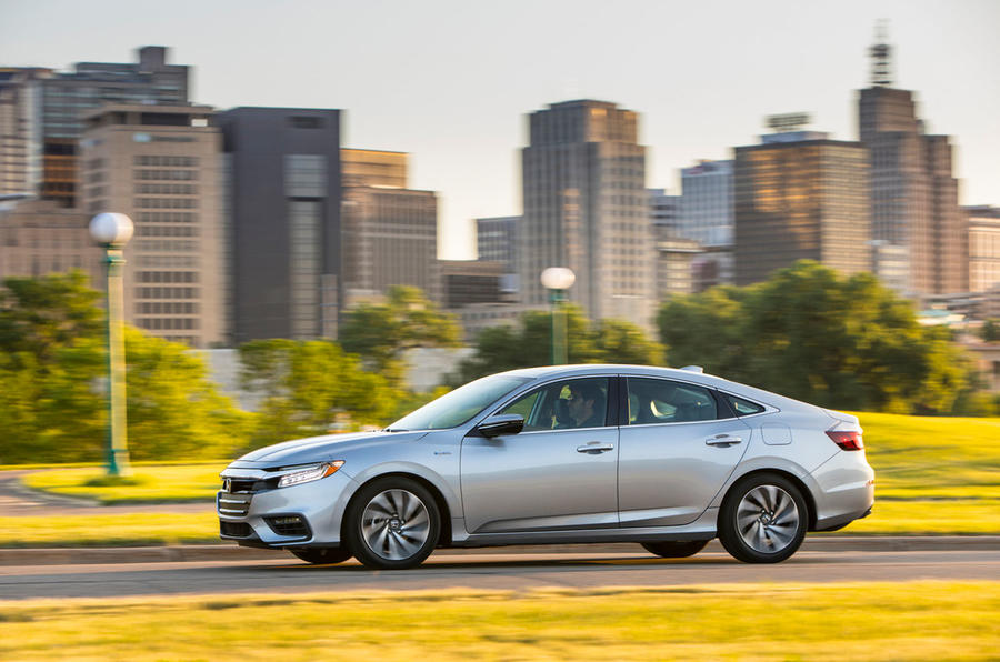Honda Insight 2019 first drive review - hero side