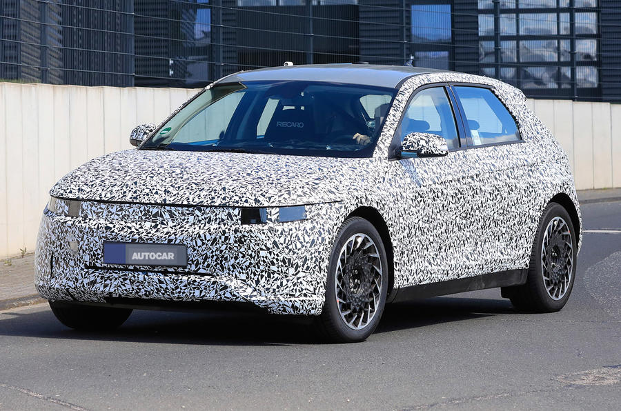 Hyundai 45 - spy shot