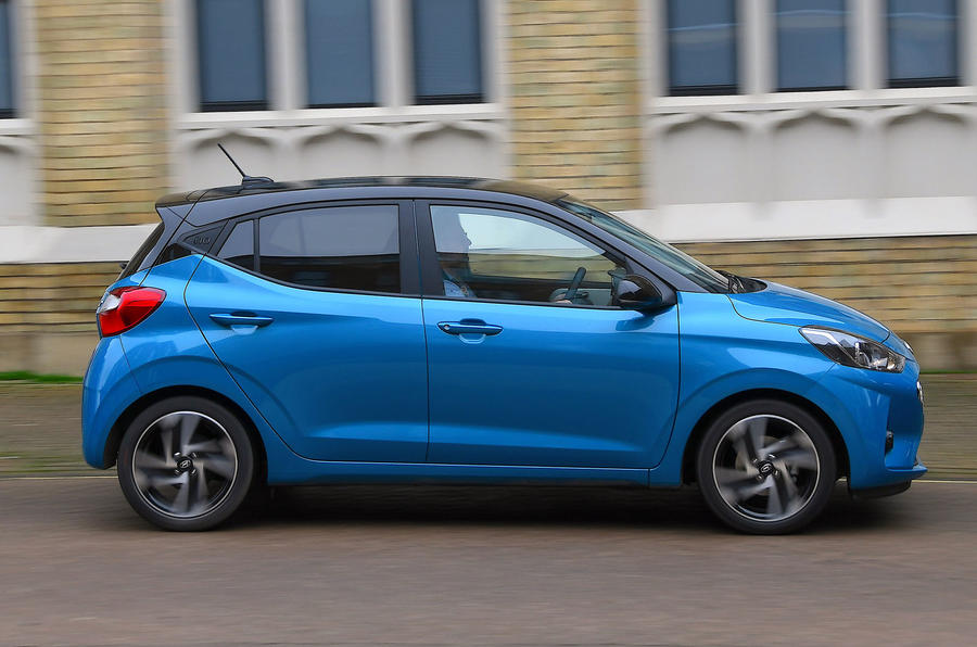 Hyundai i10 2020 UK first drive review - hero side