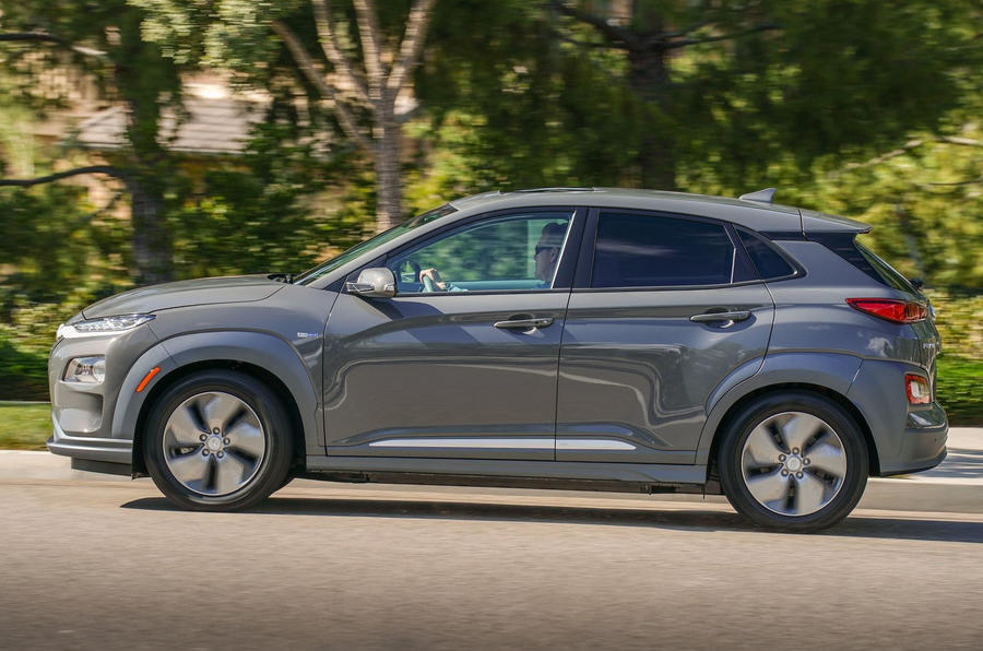 Hyundai Kona Electric 2018 first drive review hero side