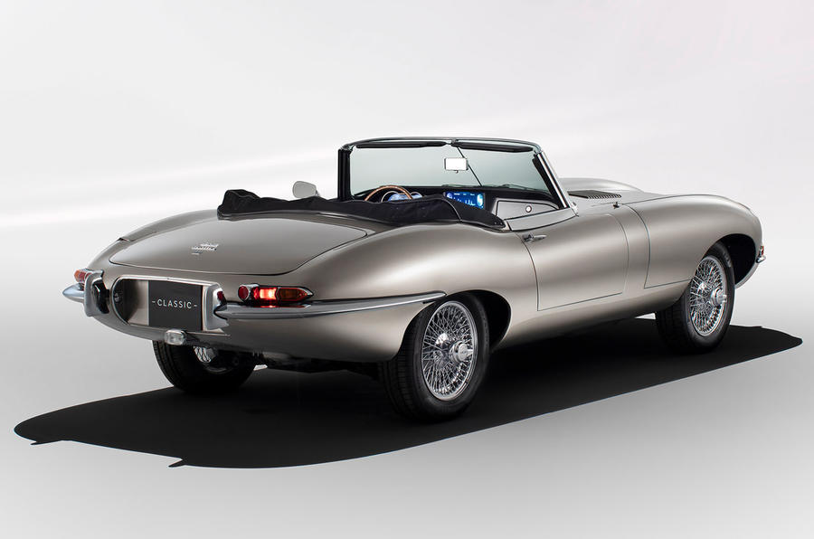 Jaguar E-Type Zero concept - static rear