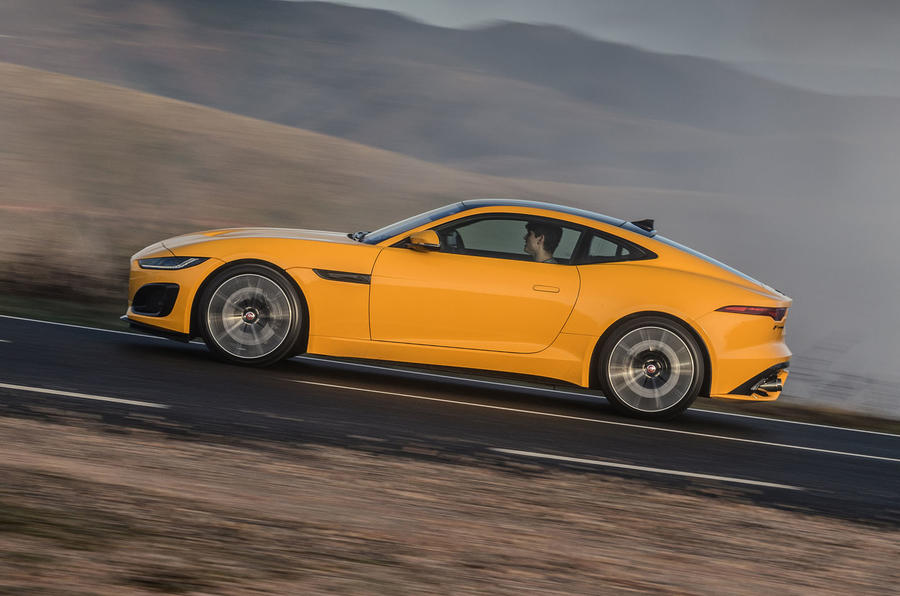Jaguar F-Type Coupé 2020 first drive review - hero side