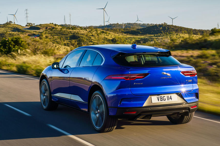 Jaguar I-Pace 2018 review hero rear