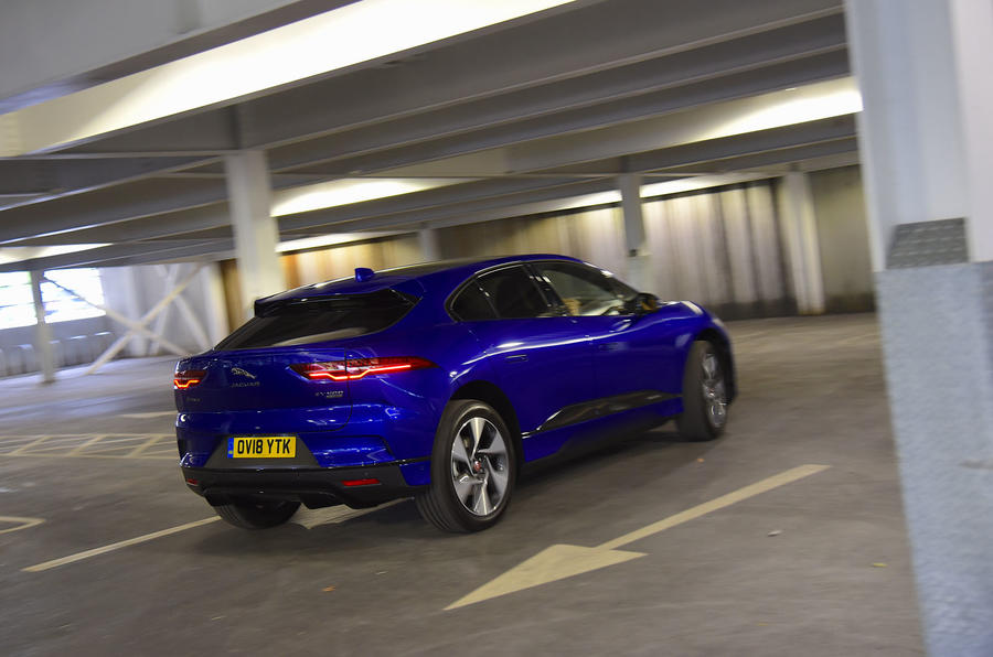 Jaguar I-Pace EV400 UK first drive review hero rear