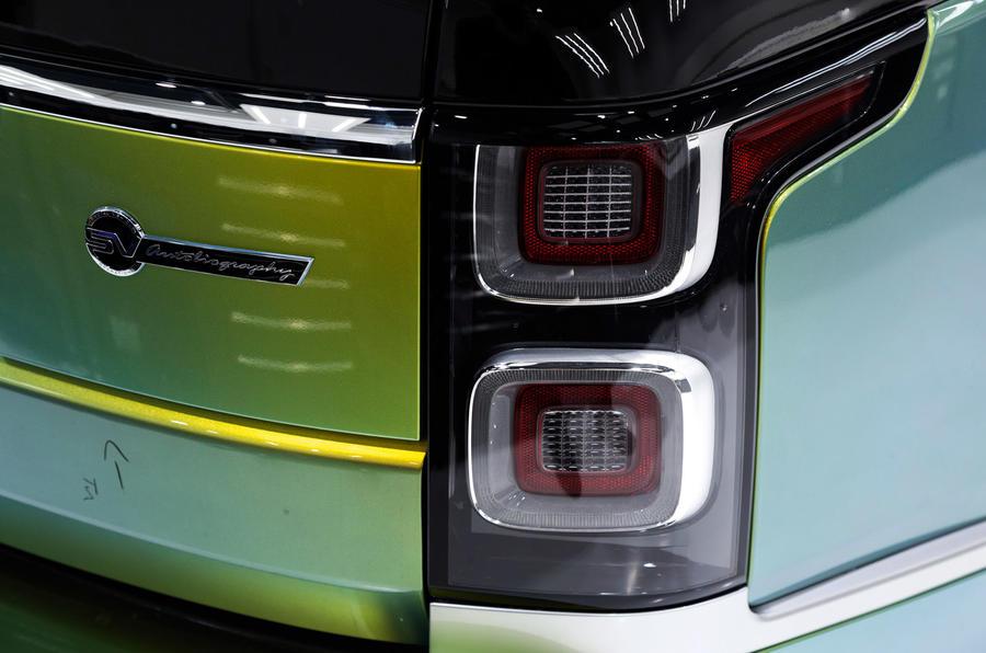 Jaguar SVO 2019 - paint finishes