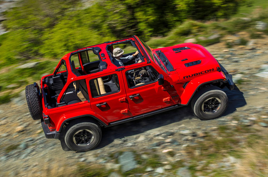 Jeep Wrangler (JL) Unlimited Rubicon 2018 review hero rear