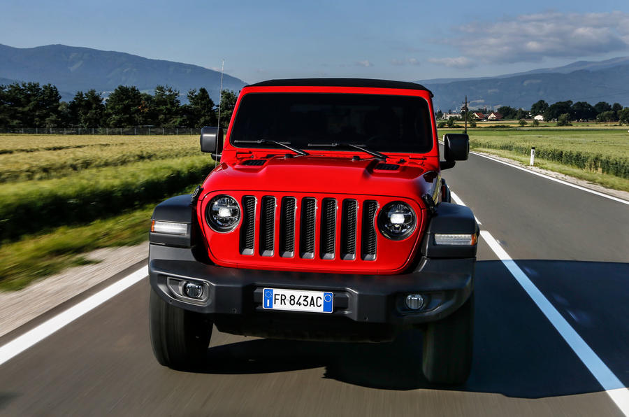Jeep Wrangler Rubicon 2dr 2018 first drive review hero grille