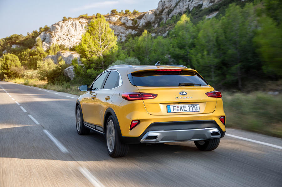 Kia Xceed 2019 first drive review - hero rear