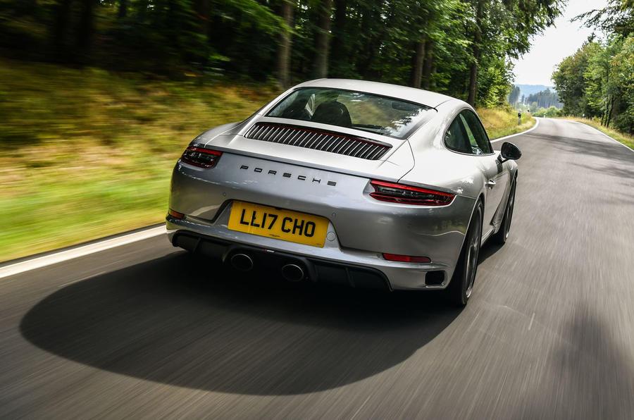 Litchfield Porsche 911 Carrera T 2018 first drive review - hero rear