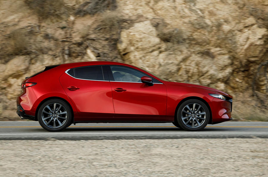 Mazda 3 2.0 Skyactiv-G 2019 first drive review - hero side
