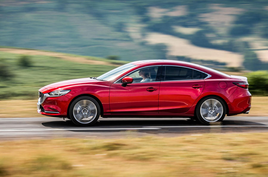 Mazda 6 2018 first drive review hero side