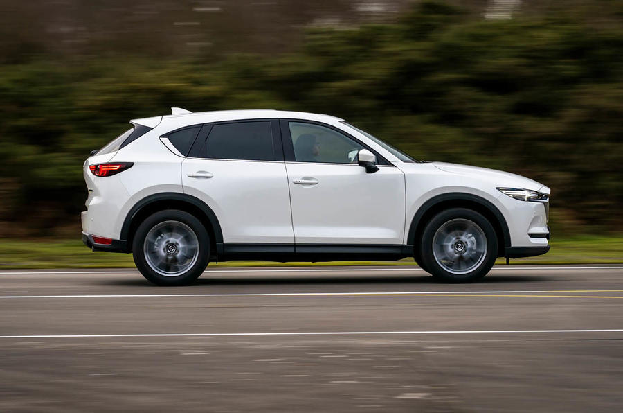 2 Mazda CX 5 2021 : le premier essai routier au Royaume-Uni passe en revue les héros