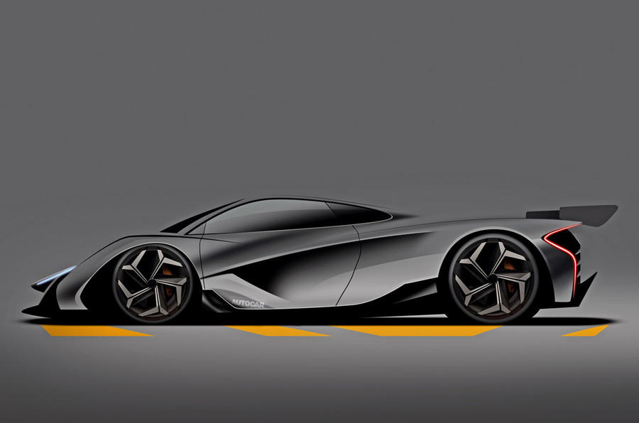 McLaren son of P1 render 2024 - static side