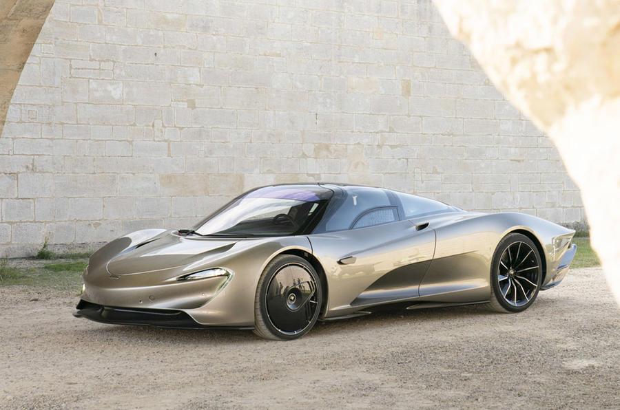 McLaren Speedtail - static front