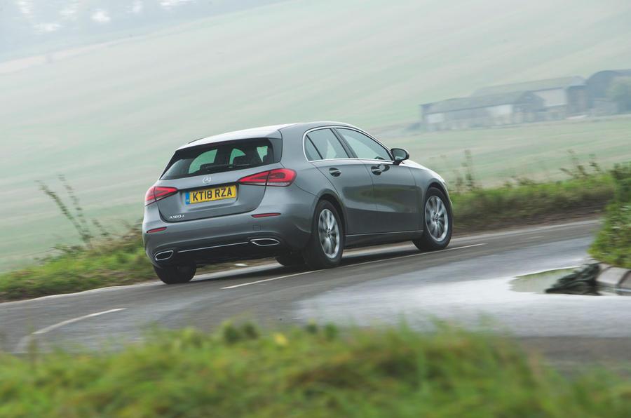 Mercedes-Benz A-Class 2018 long-term review - hero rear