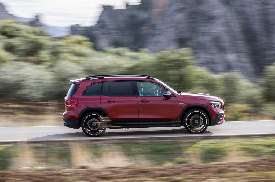 Mercedes-AMG GLB 35 2020 first drive review - hero side