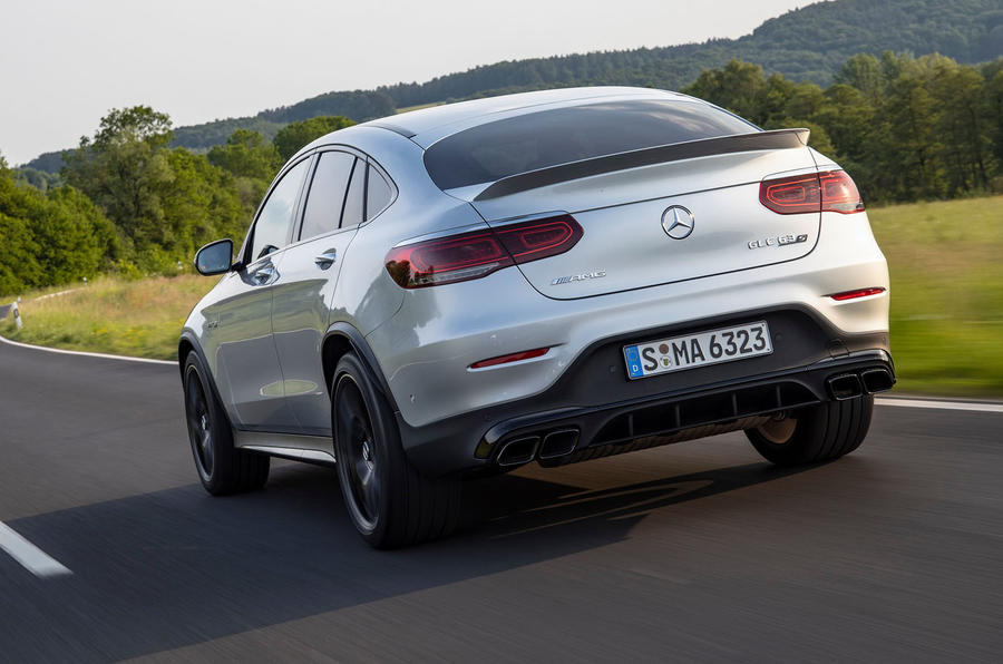 Mercedes-AMG GLC 63 S Coupé 2019 first drive review - hero rear