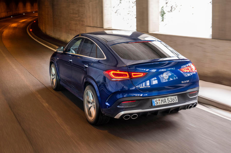 Mercedes-AMG GLE 53 2020 first drive review - hero rear
