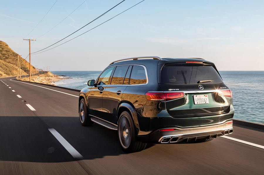 Mercedes-AMG GLS 63 2020 first drive review - hero rear