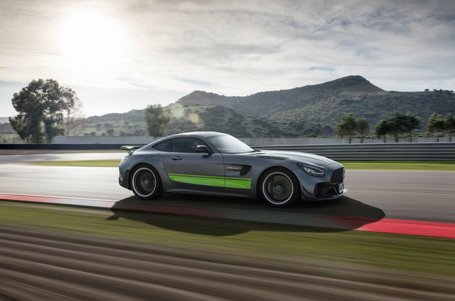Mercedes-AMG GT R Pro 2019 first drive review - hero side