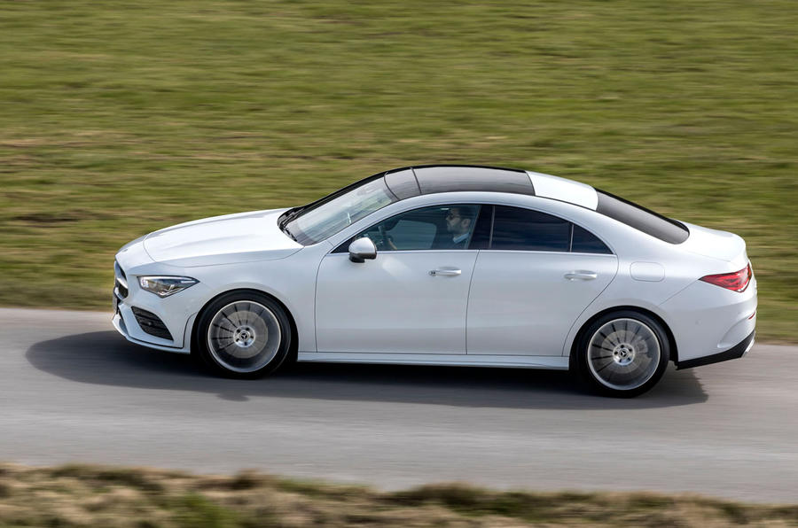 Mercedes-Benz CLA 2019 first drive review - hero side