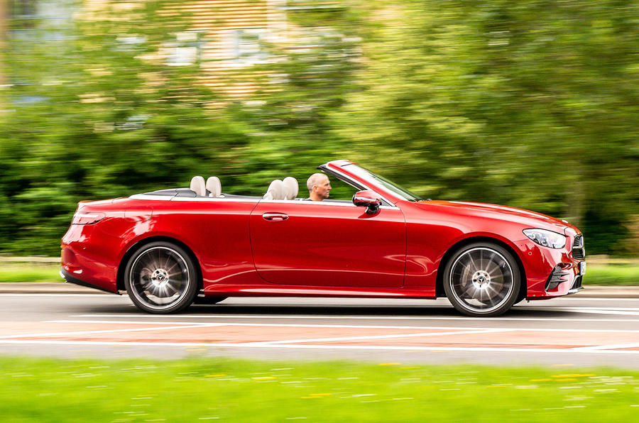 Mercedes-Benz E-Class e450 Cabriolet 2020 UK first drive review - hero side