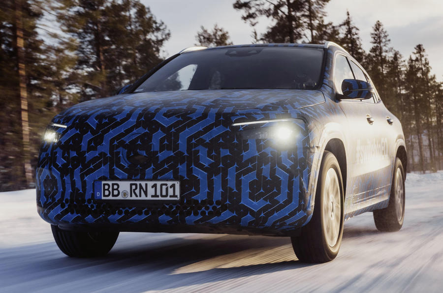 Mercedes-Benz EQA launch delayed to 2021   Autocar