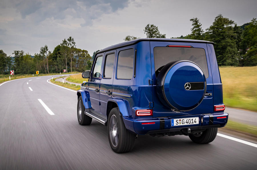 Mercedes-Benz G400d 2019 first drive review - hero rear
